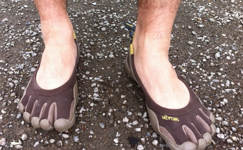 Running in minimalist footwear