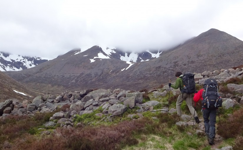 Trek in the Cairngorms, Scotland