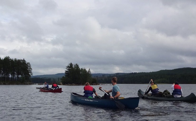 Canoeing and Survival in Tyngsjö, Sweden