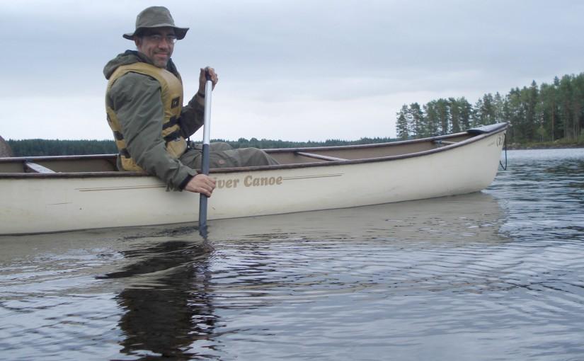 Canoeing and Survival in Tyngsjö, Sweden