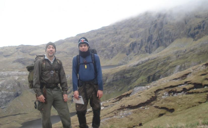 Trek near Konlochbervie, Scotland