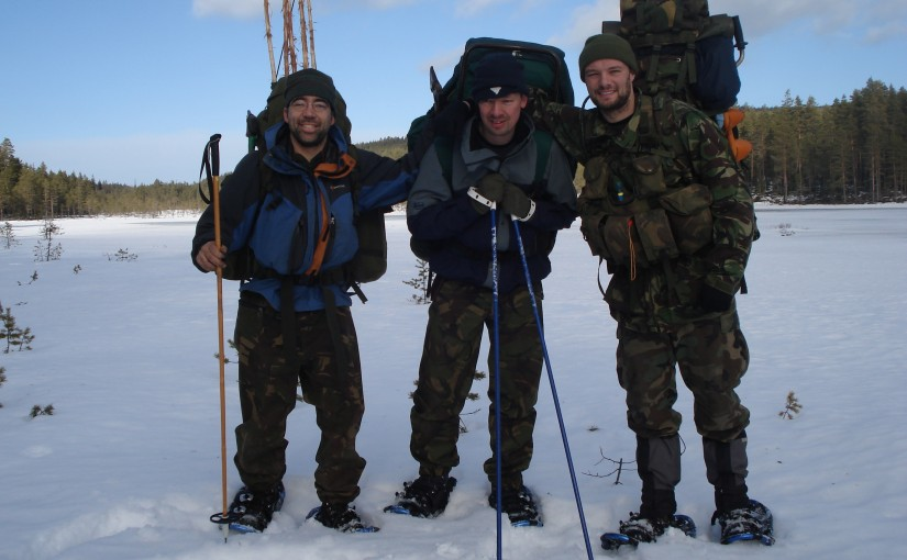 Winter Survival Training in Tyngsjö, Sweden