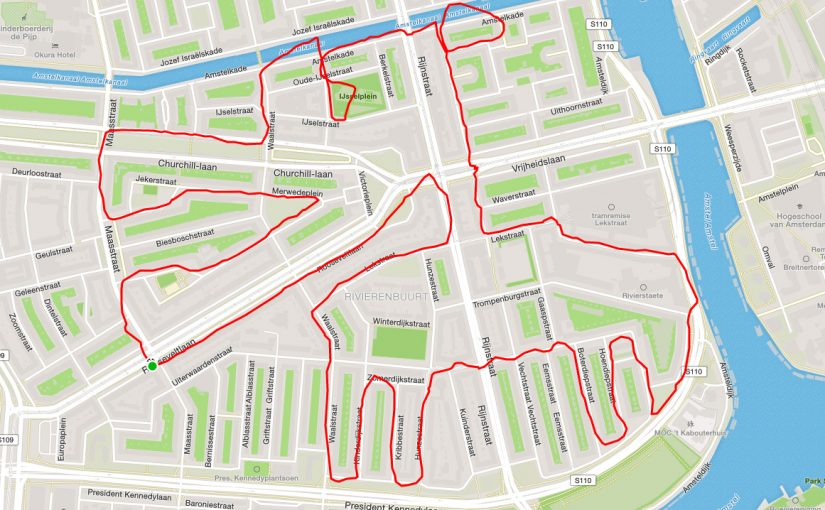 Drawing figures with GPS tracks