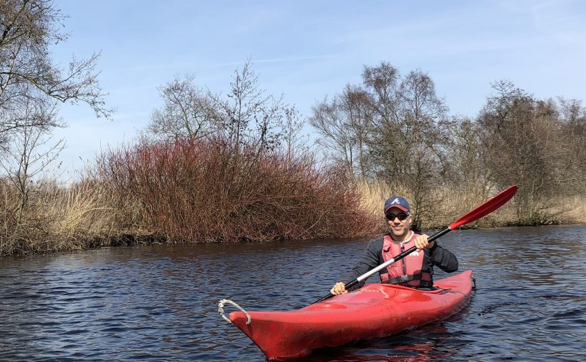 Kayaking at the Vinkeveense Plassen