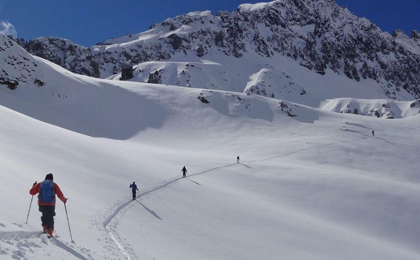 Ski touring in Vallée de la Clarée