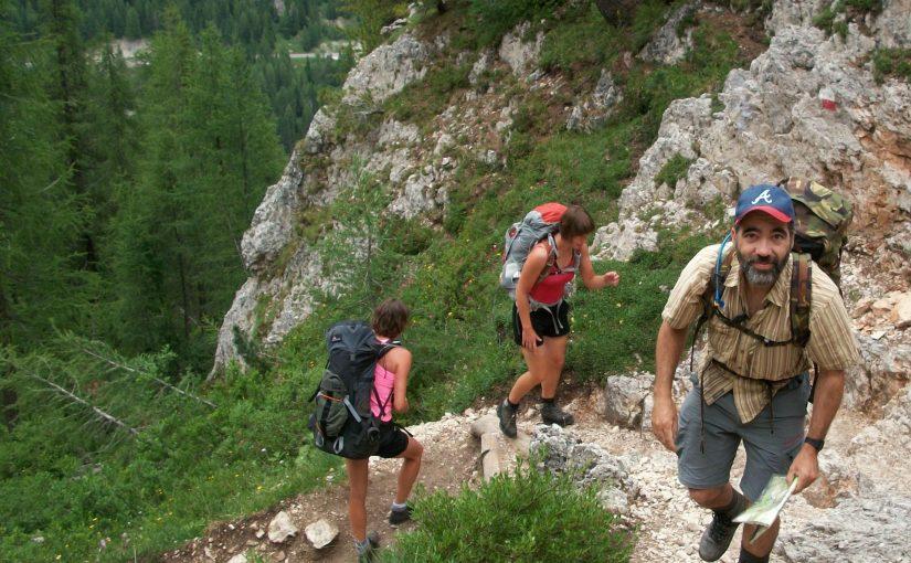 Hiking Alta Via 1 in the Italian Dolomites