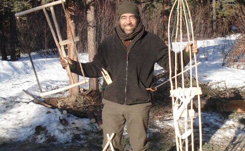 Winter survival course with Mors Kochanski in Canada