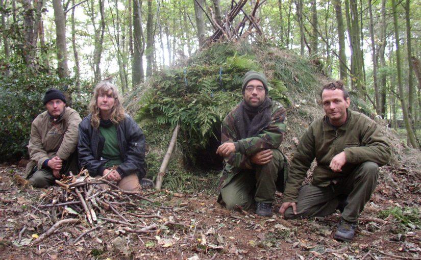 Advanced survival course in England