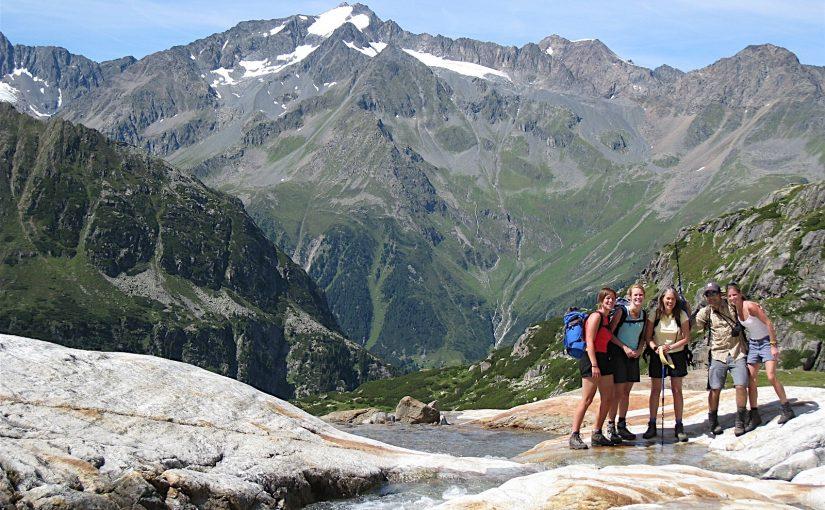 Hiking in the Stubaier Alps, Austria